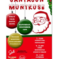 Montrose SantaCon benefiting Elves and More of Houston