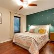 East Austin house home 1131 Poquito Street 78702 bedroom