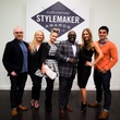 Matt Alexander, Jenny Kirtland, Maleiah Rogers, David Goltl, Melissa Rountree, Kevin Lavelle at 2014 CultureMap Stylemaker Awards