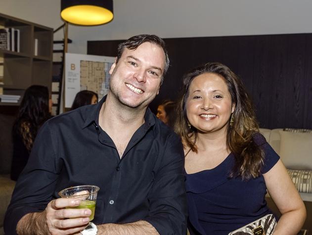 Houston, Mimosa Terrace launch event, Nov 2016, Jonah Sanders, Elizabeth Lee