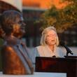 News, Shelby, John Eddie Williams Statue event, Nov. 2015, Sharon Connally Ammann