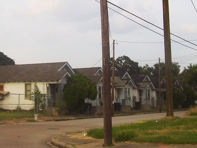 Third Ward shotgun houses