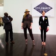 David Goltl and his models at 2014 CultureMap Stylemaker Awards
