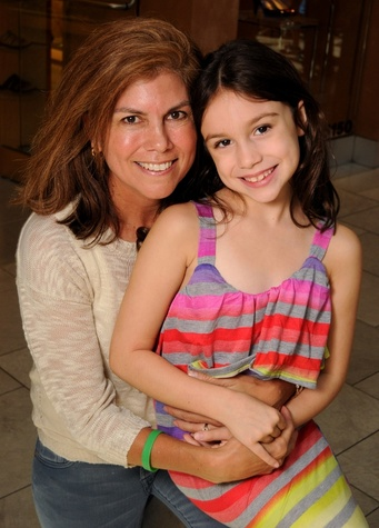 News_Shelby_MD Anderson back to school_Becky Kitchel_Kassidy Kitchel_August 2013