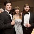 Rienzi society dinner, Feb. 2016, Mark McConn; Maddie Britt; Douglas McConn;