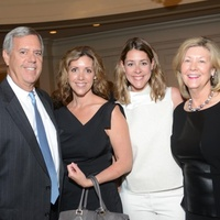 Derek Munger, from left, Amy Munger, Elizabeth Stiver and Kathy Munger at the Amazing Place Luncheon October 2014