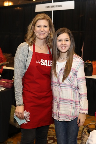 Houston, Tri Delta The Sale benefiting TCH, Jan 2017, Julie Treadwell, Courtney Treadwell