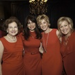 Joann Crassas, from left, Karina Barbieri, Leila Gilbert and Julie Haralson at the Go Red For Women luncheon May 2014