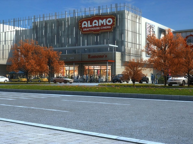 Rendering of Alamo Drafthouse Las Colinas