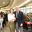 News, Shelby, Helfman Maserati opening, June 2015, Linden and Roger Sofer