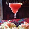 Sylvia's Enchilada Kitchen margarita with food