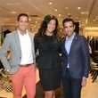 11 Luigi Major, from left, Billie Akauola and Bimal Patel at the Neiman Marcus Men's Fall Trend Event September 2014