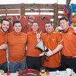 Seth Hurwitz, from left, Will Speer, Paul Ribe, Blake Aston and Mikey Gough at the Casa de Esperanza's Young Professionals 5th Annual Chili Cook Off February 2015