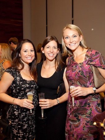 Houston Ballet and Bubbles, October 2012, Lauren Richard, Amanda Seaberg, Sarah Botting