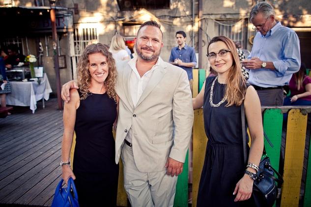 Houston, CultureMap Social, June 2015, Sarah Livesay, John Lapyroleri, Gwen Bradford