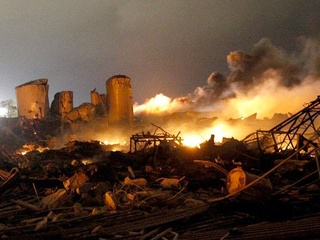West, Texas explosion remains
