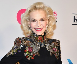 Lynn Wyatt at 25th anniversary celebration of Elton John AIDS Foundation