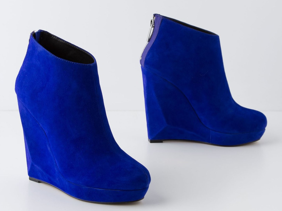anthropologie boots blue