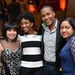 5 0601 Tina Zulu, from left, Yvette Thomas, Washington Seraton and Veena Chandrakan at the Asia Society Spotlight Asia party April 2014