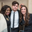 Nsen Buo, from left, Lou Ruiz and Katie Martin at the Young Life dinner February 2015