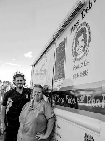 Houston, Hoffman, Miss Debs Food Truck, September 2017