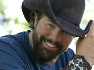 Toby Keith, cowboy hat, head shot