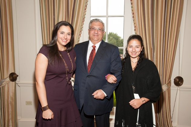 News, shelby, Foundation for Teen Health luncheon, Oct. 2015, Zeina Fares, Nijad Fares, Mia Fares