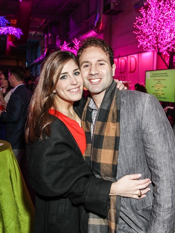 11 Laura Nelson and Ben Rose at the Social Book Launch Party February 2014