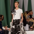 Fashion Week spring 2015 Carolina Herrera black-and-white gown