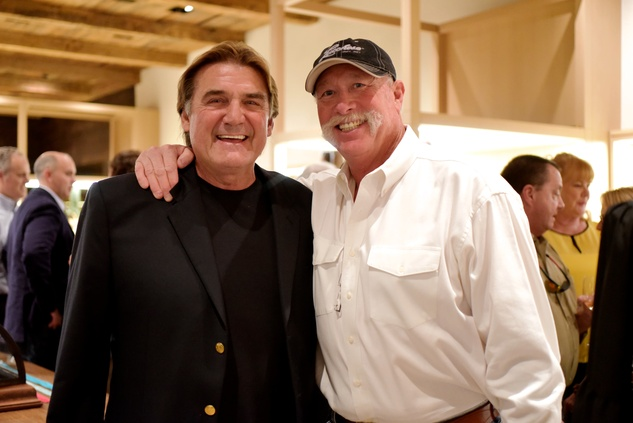 14 1694 Dan Pastorini, left, and Goose Gossage at the Lucchese Grand Opening February 2015