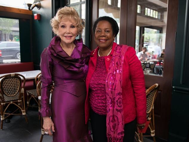Ben-Hur premiere, Aug. 2016, Joanne King Herring, Sheila Jackson Lee