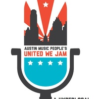 poster for Austin Music People AMP United We Jam