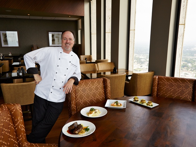 7 newly remodeled The Houston Club October 2013 chef Douglas George