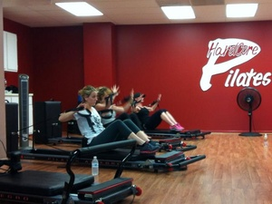 Hardcore Pilates Houston, exercise class