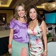 4 Lucinda Loya, left, and Erika Bagwell at the Latin Womens Initiative May 2014