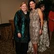 Lynn Mathre, left, and Karen Love at Masterpiece Evening April 2014