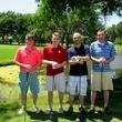 Josh Flippin, Drew Jones, Toby Flippin and Xerxes Martin, promisehouse golf tournament
