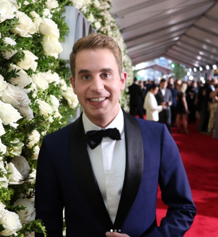 Ben Platt at Tony Awards in Hamilton Shirt
