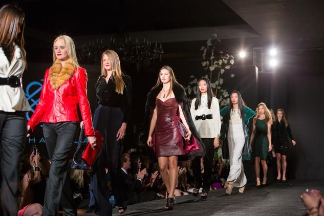 7 3767 Models on the runway at the Jonathan Blake fashion party April 2014