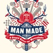 Man Made, A Stupid Quest for Masculinity, Joel Stein, book cover