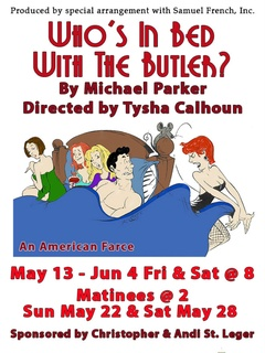 Gaslight Baker Theatre presents Who's in Bed with the Butler? An American Farce by Michael Parker