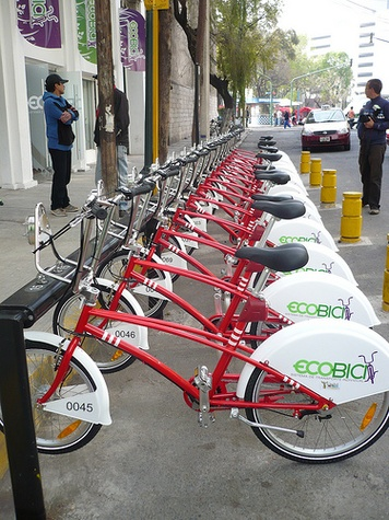 Ecobici, Mexico City, July 2012