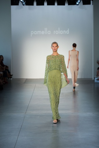 Pamella Roland spring 2017 collection look 16