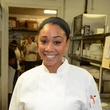 9 Chef Ja'Nel Witt at the Corner Table business lunch July 2014.