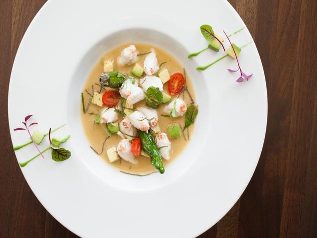 Table Ponzu Crab