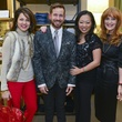 1 Jessica Rossman, from left, Jeff Shell, Miya Shay and Gracie Cavnarat Dress for Dinner February 2014