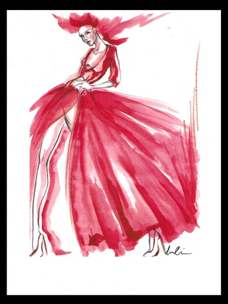 Clifford, Fashion Week, sketches, September 2012, Norisol Ferrari