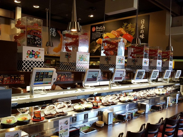 highly anticipated conveyor belt sushi restaurant opens in austin