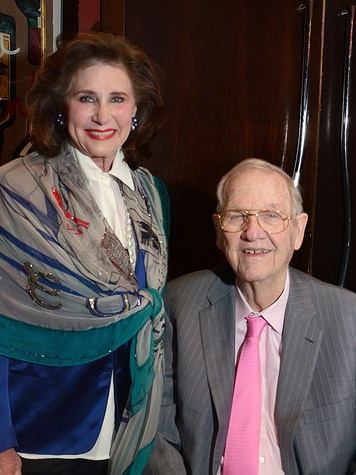 Elyse and Bob Lanier at the Texas Heart Institute dinner April 2014