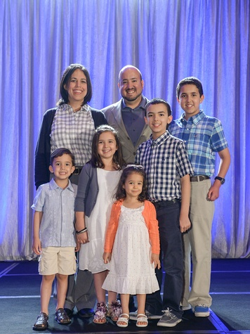 The DeLeon family, thrive event,